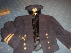 Corvette Captain Navy Uniform, Jacket + Hat