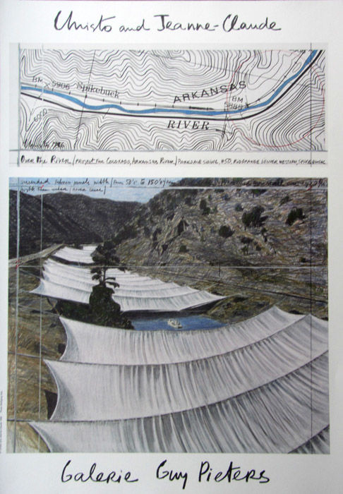 Christo & Jeanne-Claude - Over the River - 1996
