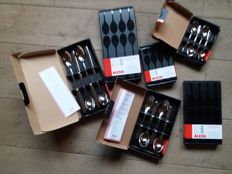 Complement to cutlery Nuevo Milano, tea spoons, coffee spoons and long drink spoons