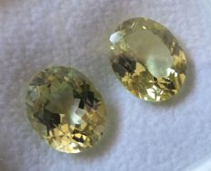 Sillimanite Matching Pair – 7.60 ct – No Reserve Price