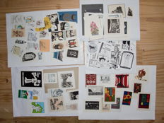 Lot with 90 exlibris by Nordic artists - 1951 / 2001