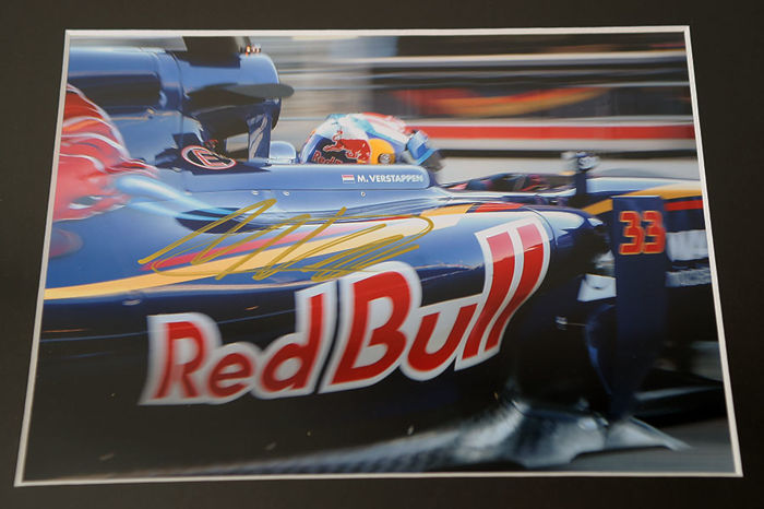 Nice Framed Image Personally Signed By Max Verstappen Catawiki