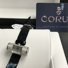 Corum - 18K white gold ladies diamonds watch