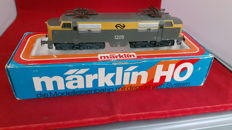 Märklin H0 - 3055 - Electric locomotive. Build series 1200 of the NS.