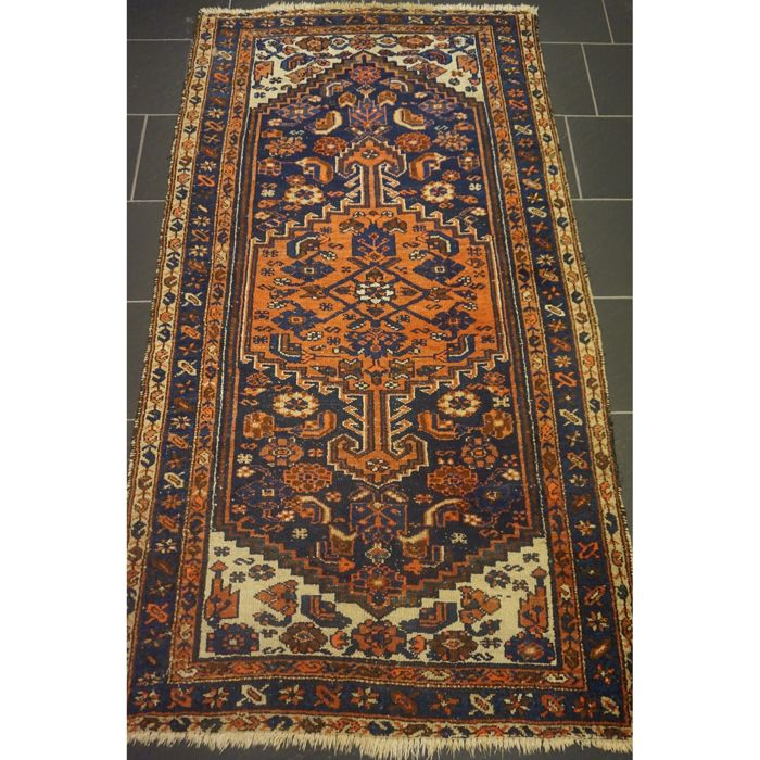 Persian Carpet Quality: Old High-quality -Persian Carpet- -Hamadan Malayer- -made