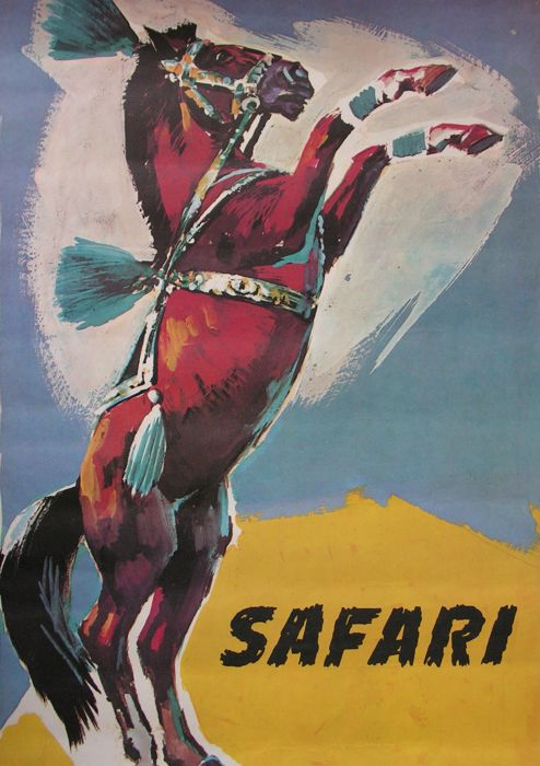 Anonymous - Safari, Czechoslovakian circus act - ca. 1960