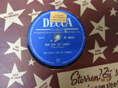 21 x Rock'n Roll and Popmusic from the fifties on 78 RPM.