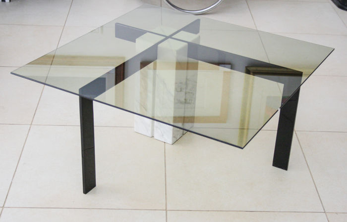 Artedi - Low table with Carrara Marble