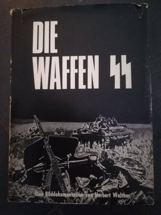 Waffen-SS; Lot with five diverse publications - 1966/1999