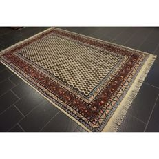 Magnificent handwoven oriental palace carpet, Bot Sarouk Mir 290 x 190 cm, Made in India, top highland wool