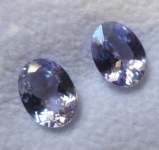 Tanzanite Matching Pair – 2.15 ct total