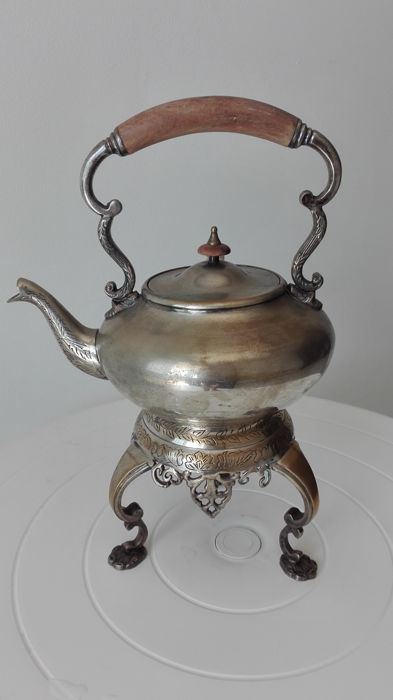 Silver plated Sheffield teapot
