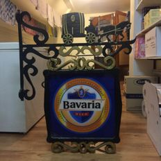 Bavaria cast iron banner