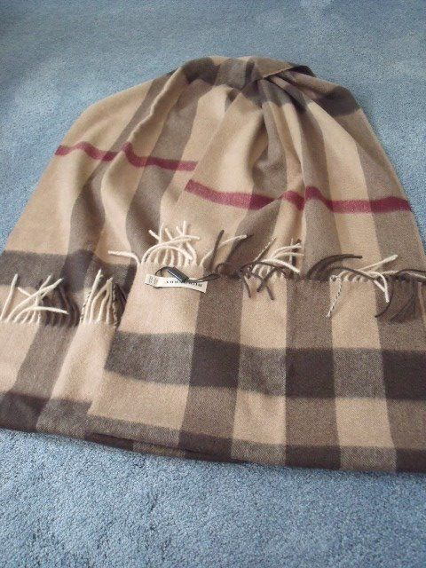 Scarf by Burberry.