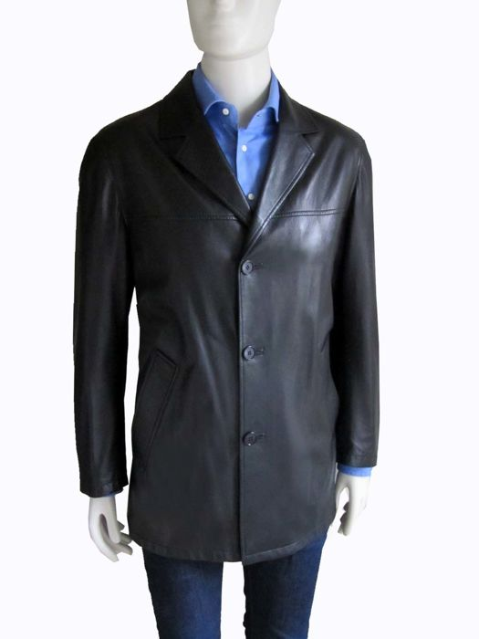 Brioni – Handmade leather jacket – ***NO RESERVE***