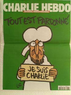 Satire; Lot of 2 special issues of Charlie Hebdo - 2015