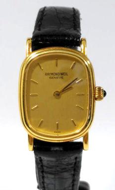 Raymond Weil - 18 kt gold - Women's watch - Year: 1990-1999