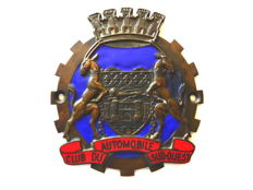 Rare authentic badge of the Automobile Club Sud-Ouest