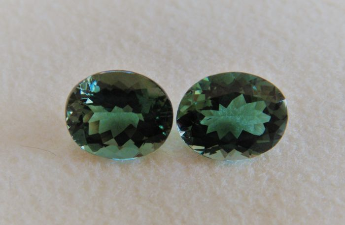 Tourmaline Pair - 5.50 ct