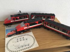 Trains -  7710 + 7715 + 7745 + 755 - Push-Along Passenger Steam Train and more
