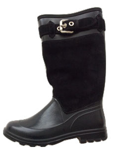 Dolce & Gabbana - Very beautiful boots, never worn, plastic and suede.