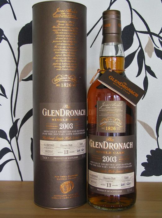 Glendronach Single Cask 2003/2016 Oloroso Butt 13 years old