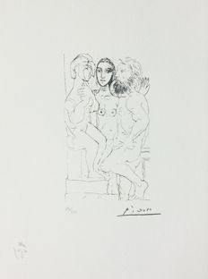 Pablo Picasso (after)  - Suite Vollard, Planche XL