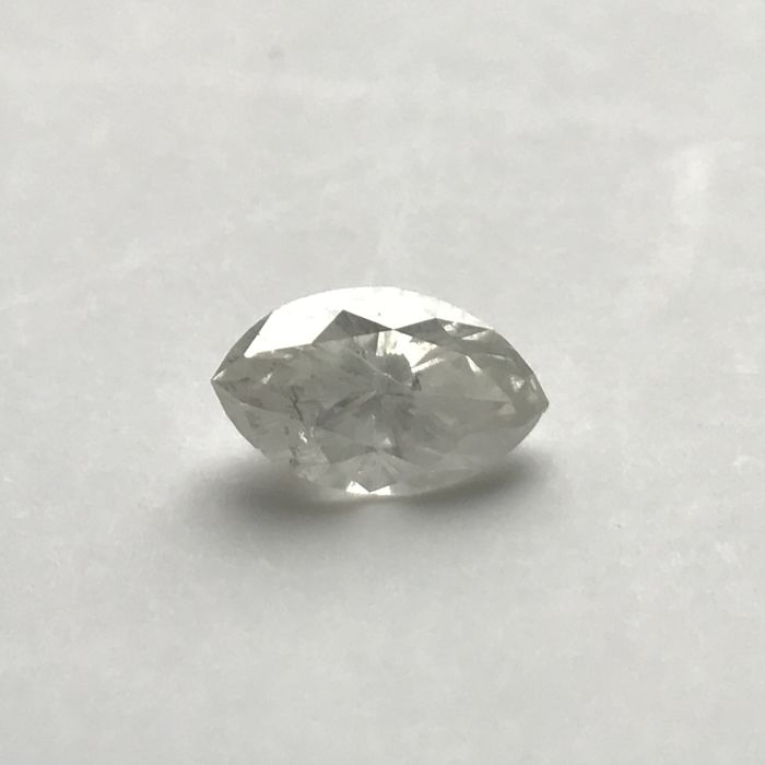 A beautiful 0.90 carat white Marquise **NO RESERVE PRICE**
