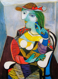 Pablo Picasso (after) Portrait of Marie-Therese Walter