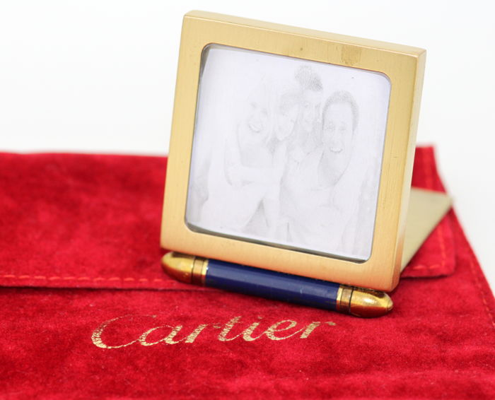 Cartier - Gold Plated Frame, Circa.1980 France