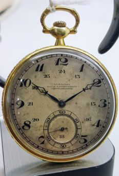 Longines - pocket watch Nacib k Djezvedjian Constantinople - Unisex - 1901-1949