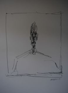 Alberto Giacometti (after) - Untitled