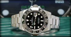 Rolex GMT MASTER II Ref. 116710LN - Top Condition - Never Polished - Full Set