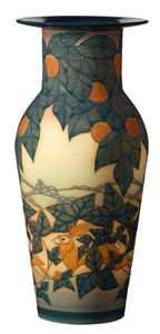 Sally Tuffin - Natural Hare Etruscan vase - 35 cm