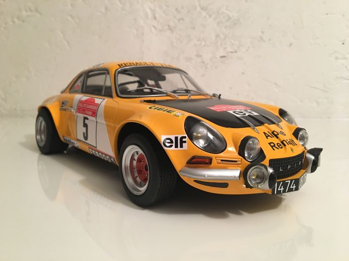 RL - Scale 1/12 - Renault Alpine A 110 1800 #5 - Limited series of 50 copies