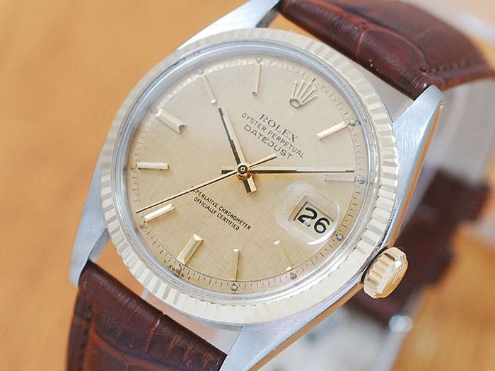 Rolex Oyster Perpetual Gold & SS DateJust Automatic Watch!