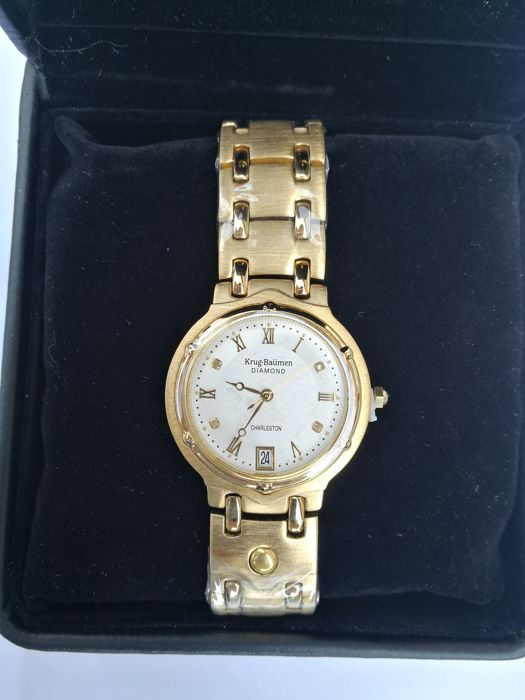 Krug Baumen Charleston Diamond  - Unisex wristwatch. Never worn.
