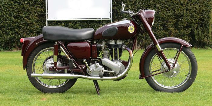 Ariel - Red Hunter - 350 cc - 1956