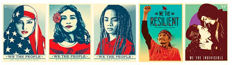 Shepard Fairey (OBEY), E. Yerena, J. Sabogal - 'We the People'