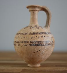 Decorated Ceramic Jug - 10 cm