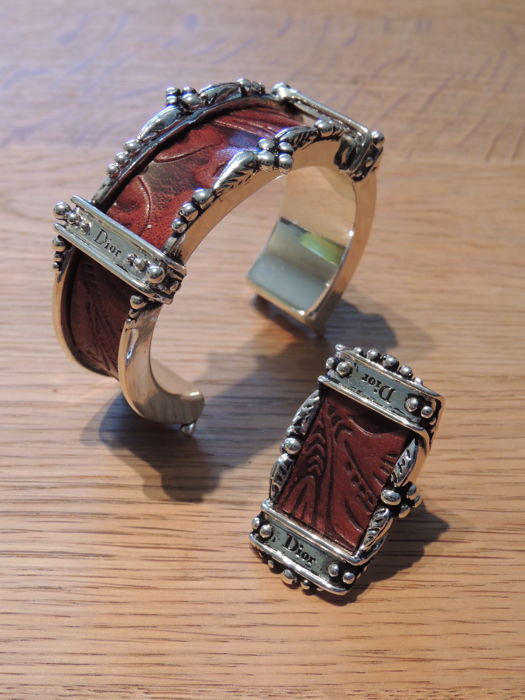 Dior - Bracelet and ring
