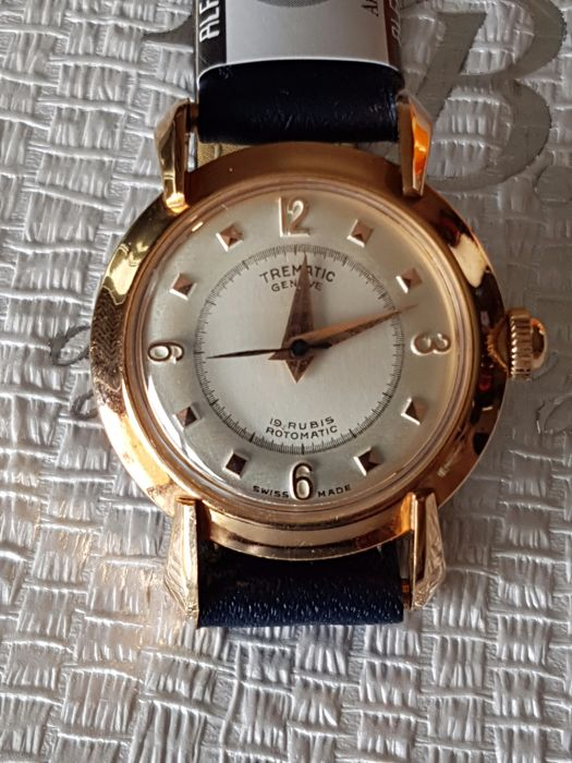 Trematic Rotomatic 403 – Women's wristwatch – 1970s – NOS, gold-filled