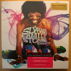 Sly And The Family Stone* ‎– Higher! || 8LP box || Unreleased tracks || 104-page book