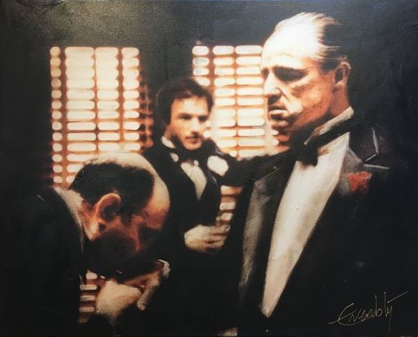Stephan Evenblij - The Godfather, Handkiss