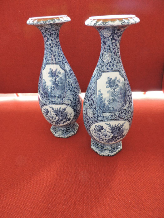 Villeroy And Boch Flamand 2 Large Vases Catawiki