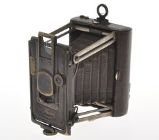 "Murer, very rare small ""Tascabile"" camera UP-0 for plate 4.5x6 with focusing!!"