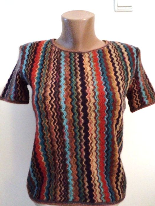 Missoni knitted blouse