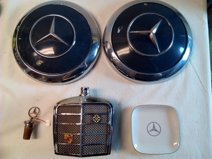 5 Mercedes objects - second half 20th century