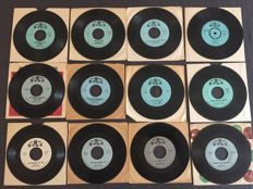 William Bell - Lot of 12 original 45RPM Stax singles (1961/1968)