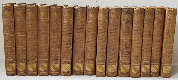 Shakespeare - The plays and poems of Shakespeare - 15 delen - 1842